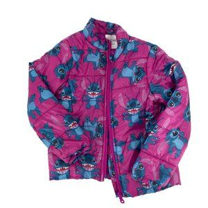 DISNEY Stitch Lightweight Puffer Jacket